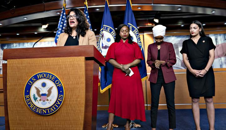 Dengar Langsung, Anggota Kongres Muslim Amerika Bikin Pernyataan Mengejutkan