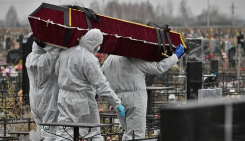 Pemkot Moskow Umumkan Lockdown Seminggu di Tengah Kematian yang Meningkat