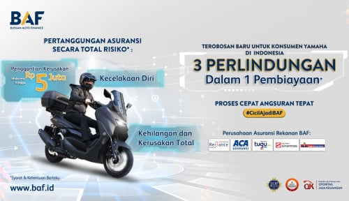 BAF Luncurkan Program 3 Perlindungan dalam 1 Pembiayaan Motor Yamaha