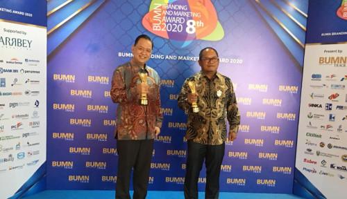 PTK Sabet 2 Penghargaan Sekaligus di BUMN Branding and Marketing Award 2020