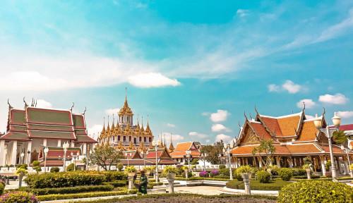 Thailand Dihantam Gelombang Ketiga Covid-19, Sektor Pariwisata Nyungsep Hingga 85 Persen