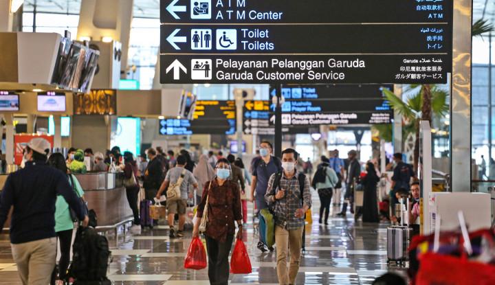 Imbas Larangan Mudik, Pergerakan Penumpang di 15 Bandara AP I Turun 91 Persen