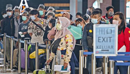 Jumlah Penumpang Bandara Via AP I Turun 65,5%