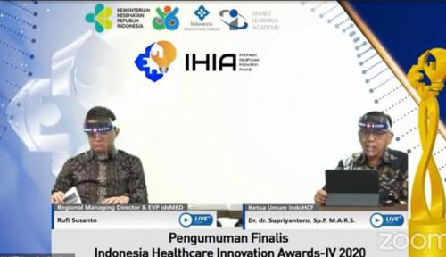 Ajang Indonesia Healthcare Innovation Awards 2020 Sisakan 10 Finalis