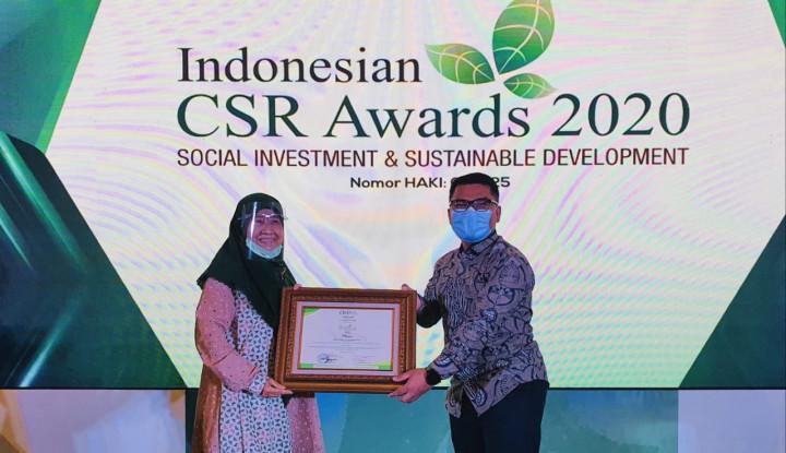 PT Kaltim Nitrate Indonesia Raih Penghargaan di Ajang Indonesian CSR Award 2020