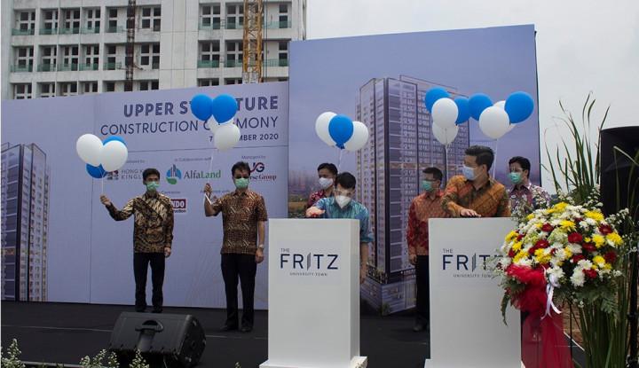 Pacu Penjualan, Hong Kong Kingland Resmikan Struktur Atap The Fritz