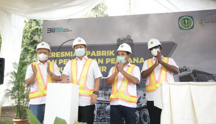 Top! Pupuk Kujang Resmi Operasikan Pabrik CO2 Senilai US$7,4 Juta