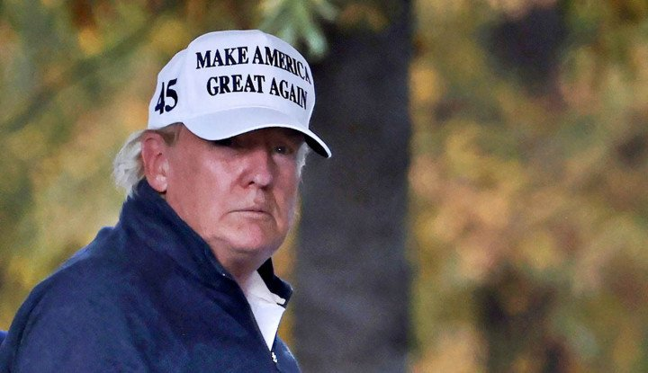 Sebut Ada Kecurangan di Pilpres AS, Ribuan Pendukung Donald Trump Lakukan Hal Ini