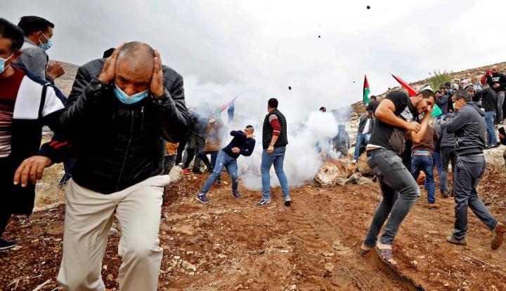 Astagfirullah... Deru Jet Tempur Zionis dan Ledakan Iringi Perayaan Idulfitri di Gaza