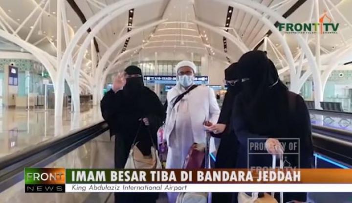 Saat Pertama Injak Kaki di Bandara Soetta, Habib Rizieq Langsung Beraksi!
