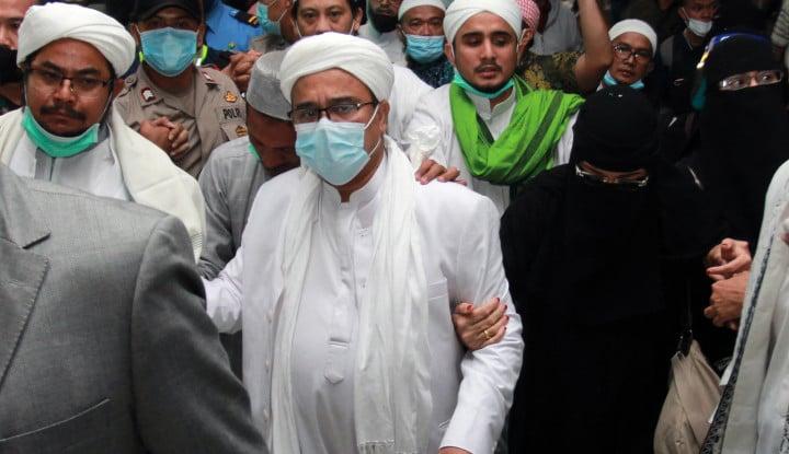 Senggol Omnibus Law, Habib Rizieq: Bikin Undang-Undang Apa Kuitansi Warkop?