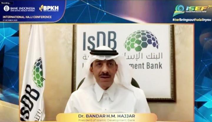 Presiden IsDB Group Soroti Peran Dana Haji di Negara Muslim