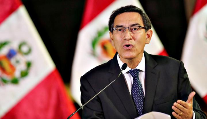 'Ditendang' Kongres, Presiden Peru Terpaksa Harus Lengser