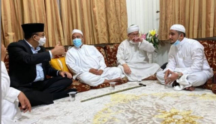 Anies Baswedan Belum Tentu Hadiri Pernikahan Anak Habib Rizieq
