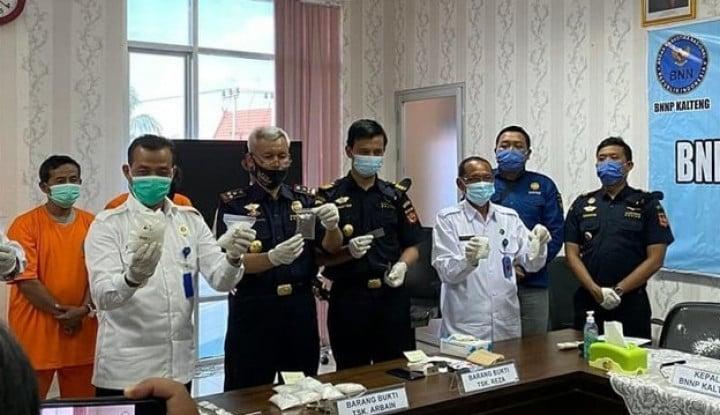 Bea Cukai Pulang Pisau & BNNP Kalteng Gagalkan Penyelundupan Tembakau Gorila