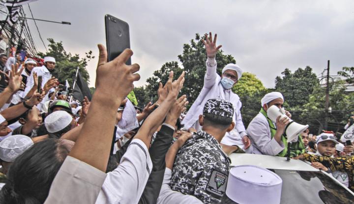 Acara Habib Rizieq Bikin Kerumunan Orang Tumpah Ruah, Respons FPI....