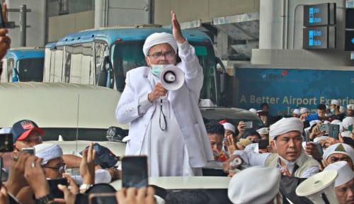 Sebut Ketum PA 212 saat Jemput Habib Rizieq di Soetta: Yang Mulai Takbir Pegawai Bandara
