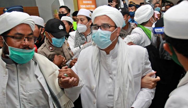 Habib Rizieq Disarankan Swab Test, FPI: Beliau Sehat Wal Afiat