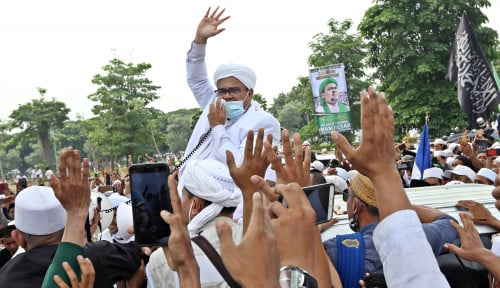 Daya Tarik Habib Rizieq Jadi Rebutan Partai Politik
