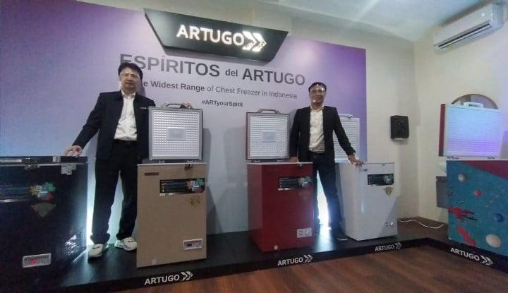 Unggulkan Harga Murah, Artugo Siap Rebut Pasar Chest Freezer
