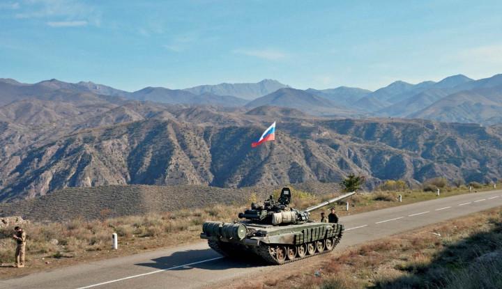 Puluhan Pesawat Kargo Militer yang Angkut 400 Tentara Rusia Tiba di Armenia, Ada Apa Lagi?