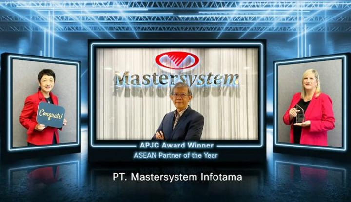 Mastersystem Jadi Perusahaan Pertama Sabet Penghargaan Cisco APJC Award