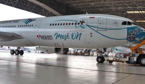 Garuda Indonesia Gunakan Pesawat Berbadan Lebar untuk Rute Jakarta-Denpasar