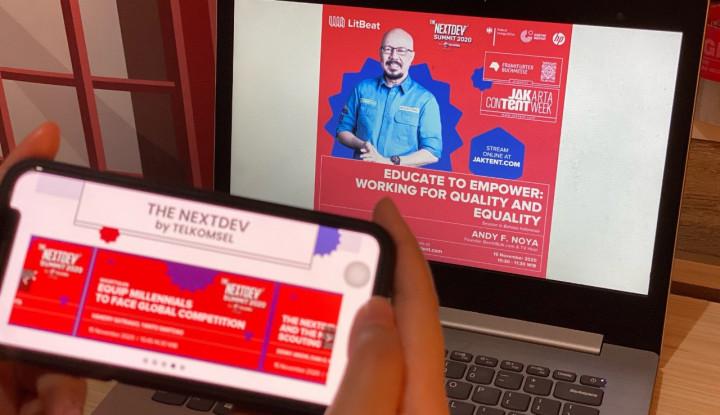 Telkomsel Beri Wadah Inklusif bagi Pelaku Industri Kreatif Digital di Indonesia