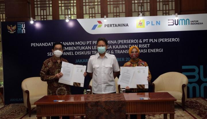 PLN & Pertamina Inisiasi Bentuk Indonesia Energy and Electricity Institute