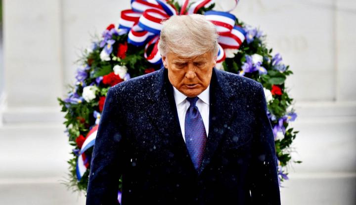 Foto Berita Donald Trump Jadi Miliarder dengan Skandal Terbesar Tahun 2020