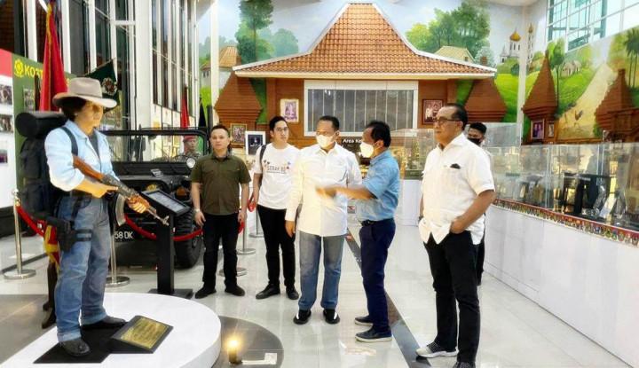 Sambangi Museum Bang Yos, Bamsoet Dorong Pejabat Publik Berikan Inspirasi ke Generasi Muda