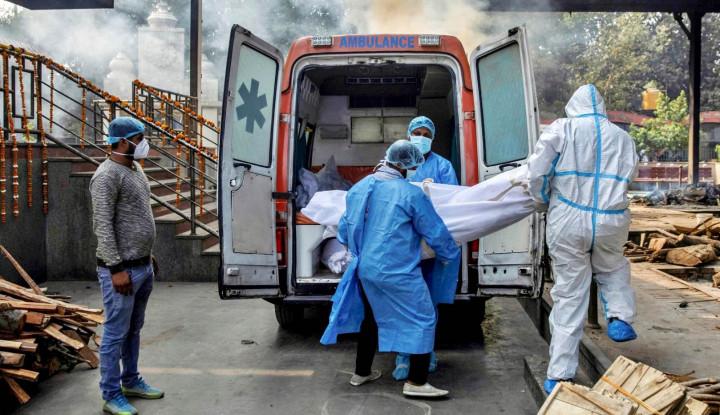 Teriakan Lockdown Bergema, Dalam 24 Jam Angka Kematian di India Capai 4.000