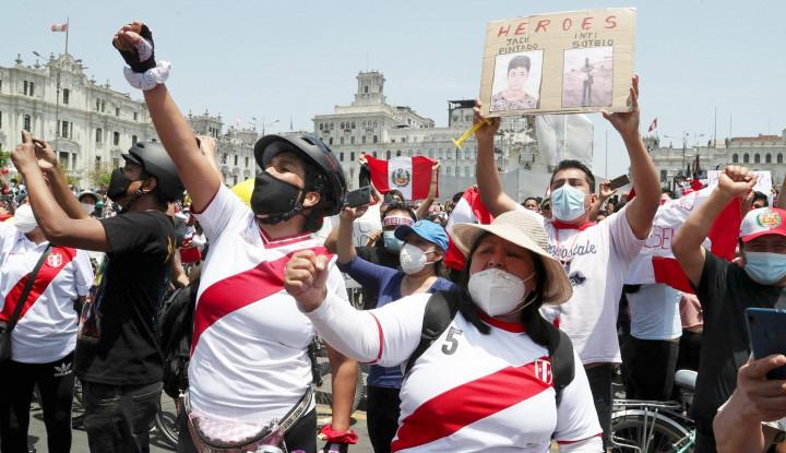 Pemerintahan Baru Berumur 5 Hari, Presiden Peru Pilih Mundur
