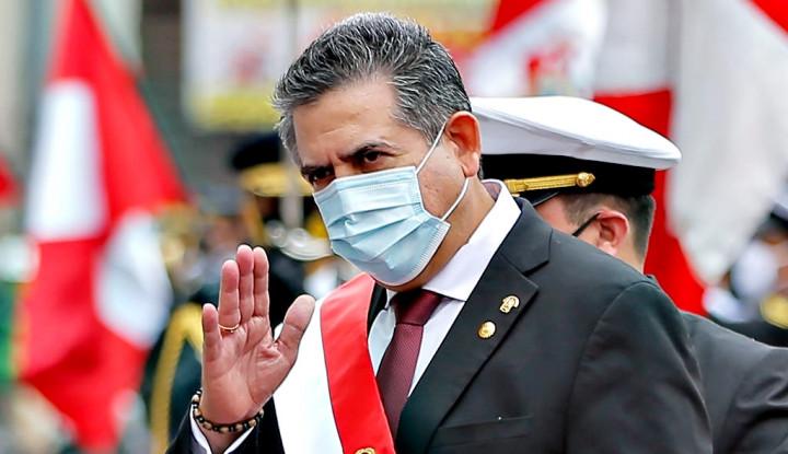 Alasan Presiden 5 Hari Peru Lepas Jabatan Terungkap, Tangan Berlumur Darah...