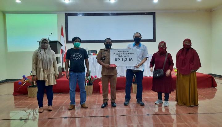 Bangkitkan UMKM di Masa Pandemi, Pertamina Gelontorkan Rp1,3 Miliar di Kabupaten Luwu