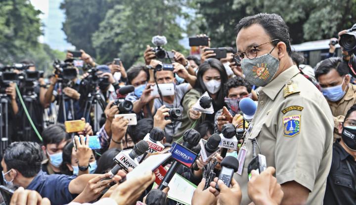 Anies Baswedan Sanjung Presiden Jokowi di Proyek MRT, Biar Survey Capres Tinggi Ya Pak?