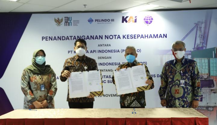 Duet BUMN, Pelindo III dan KAI, Optimalkan Aset dengan Jurus-Jurus Baru