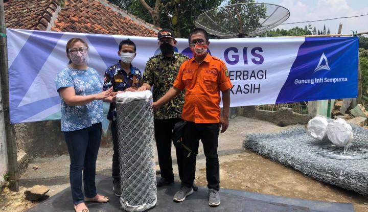 Perbaikan Fasum Pasca-Bencana, GIS Pasok Material Berkualitas ke Sukabumi