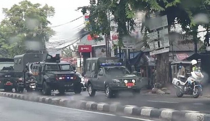 Pasukan Elite TNI Muter-Muter di Markas FPI, Anak Buah Habib Rizieq Terheran-heran