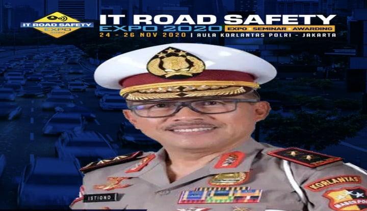 Korlantas Polri Bakal Gelar IT Road Safety 2020