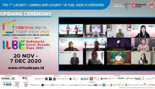 Lewat Indonesia Local Brands Expo 2020, ASENSI Dukung Ratusan UMKM Go Digital