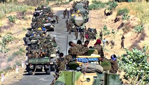 Pasukan Tigray Bikin Militer Ethiopia Lenyap, Perang Terus Berkecamuk