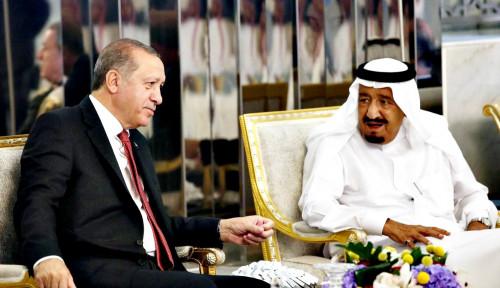 Calling Raja Salman, Erdogan Buka-bukaan Bahas Ini dengan Sang Raja