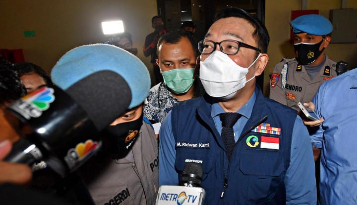 Ridwan Kamil Terkaget-kaget Namanya Dibawa-bawa ke Demokrat
