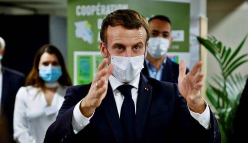 Emmanuel Macron Positif Corona, Fakta Ungkap Sang Presiden Lakukan Ini Sebelum Akhirnya...