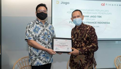Garap Pembiayaan Digital, Akulaku Finance dan Bank Jago Berduet