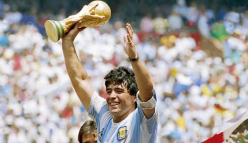 Diego Maradona Pernah Bobol Gawang Timnas Indonesia