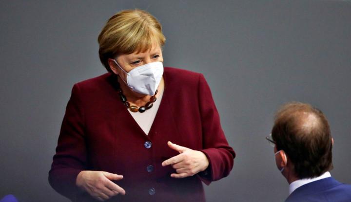 Langsung dari Orangnya, Angela Merkel Sampaikan Dukungan pada Benjamin Netanyahu