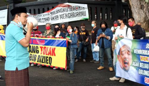 Warga Malang Demo FPI dan Habib Rizieq: Ini Aksi Spontan Murni