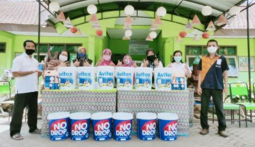 Dukung Program Sekolah Sehat, Avian Salurkan Sarana Cuci Tangan di Sekolah